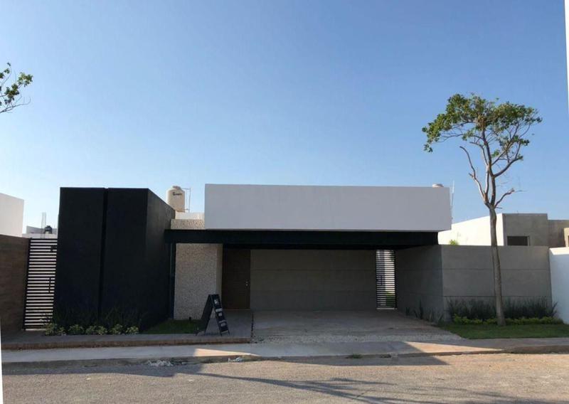 preventa residencia de una planta en privada chaaktun