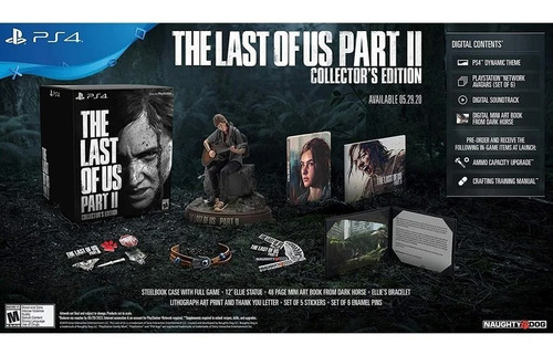 preventa the last of us ii collection edition playstation 4