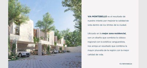 preventa townhouse via montebello - modelo jun