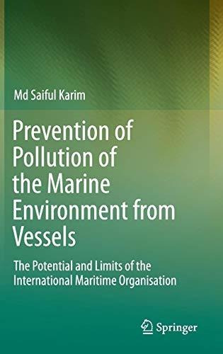 prevention of pollution of the marine environment from vess