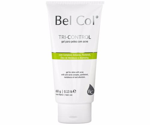 previene y controla el acné  tricontrol  belcol