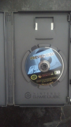 preview disc o disco de demos para gamecube
