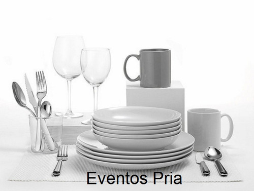 pria eventos & catering - alquiler de menaje y servicio