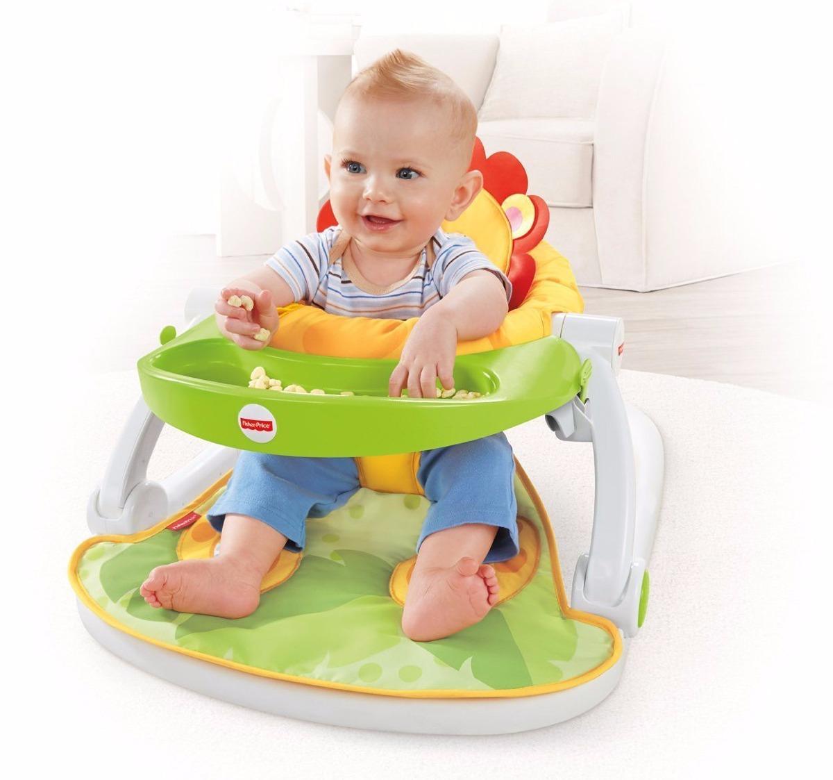 Fisher price sit me up silla portatil sillita con juguetes for Silla 2 en 1 fisher price
