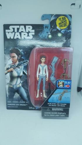 pricess leia starwars hasbro legacy collection figura accion