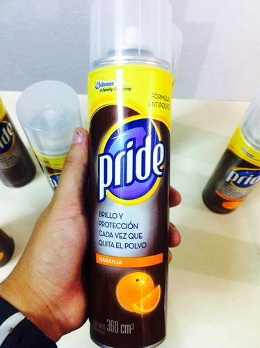 pride spray limpiador de superficies