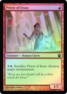priest of iroas theros (foil)