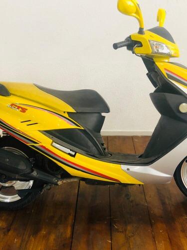 prima 150cc amarela 2013