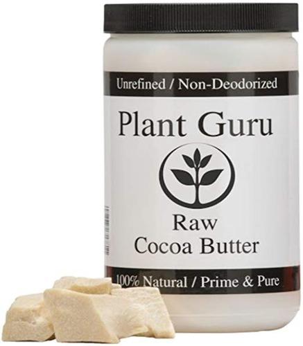 prima manteca de cacao 100% puro de 16 onzas. (envasada en p