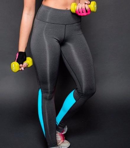 primavera-otoño de la mujer leggings de fitness de alta cint