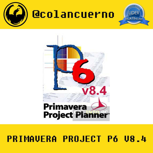 primavera project planner p6 v8.4 + manual de uso