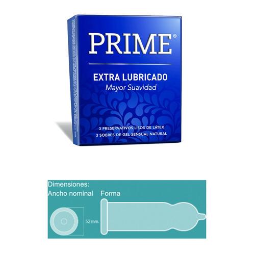 prime fantasy 1 + 12 preservativos extra lubricado y dual
