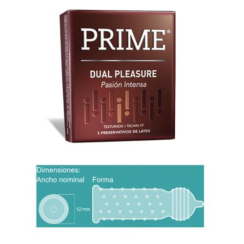prime fantasy 4 + 12 preservativos extra lubricado y dual