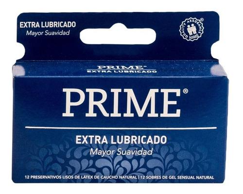 prime preservativos extra lubricado 12x12 caja 144 unidades