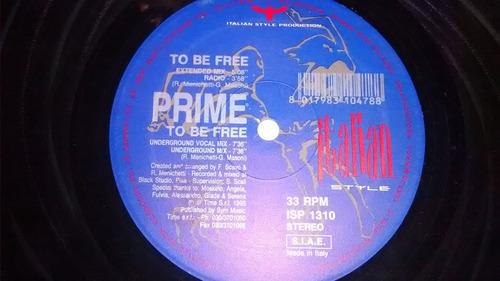 prime to be free maxi vinilo italy excelente