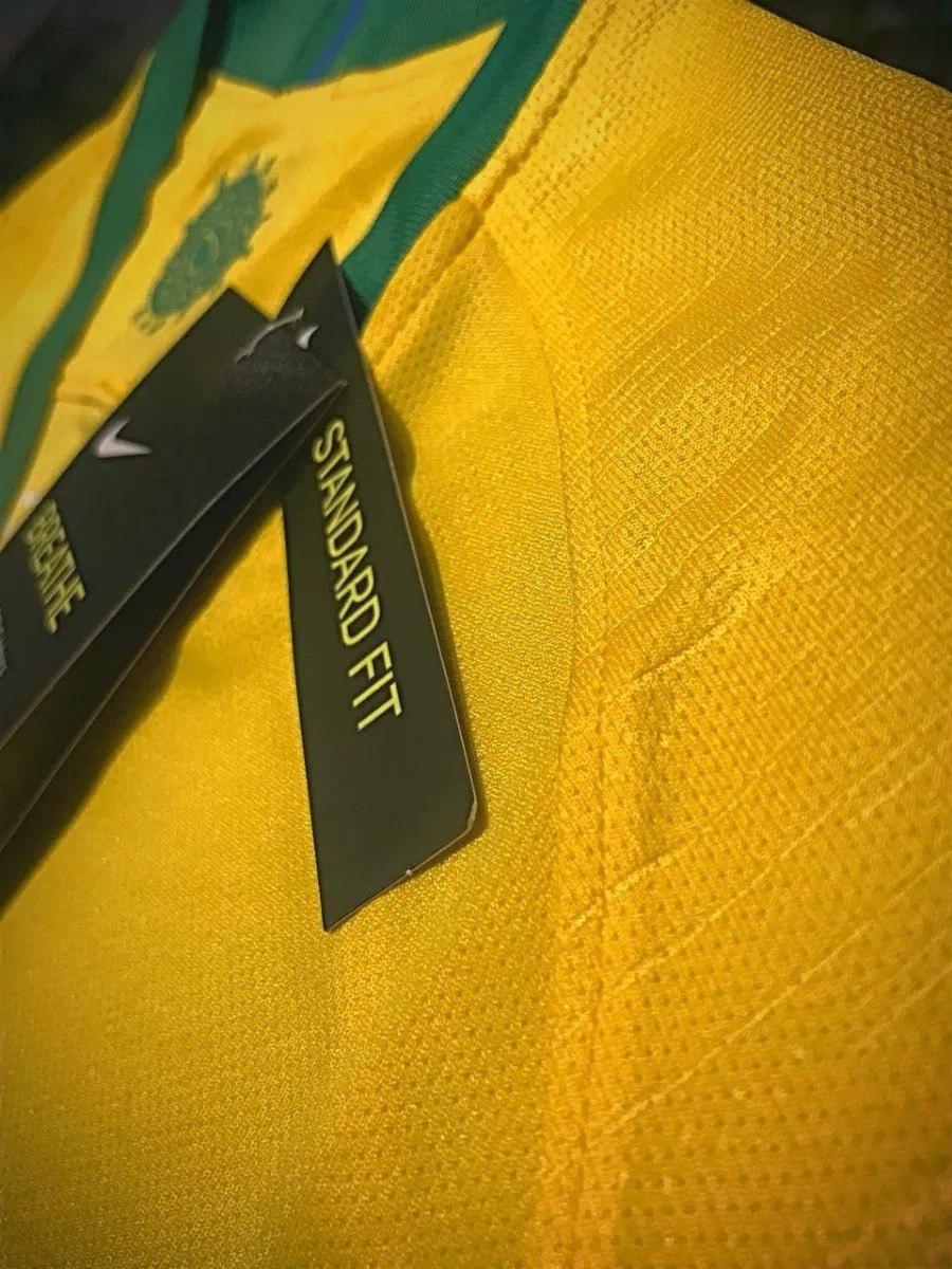 2 primeiro uniforme seleção brasileira brasil mundial russia. Carregando  zoom. 0791d843ad03e