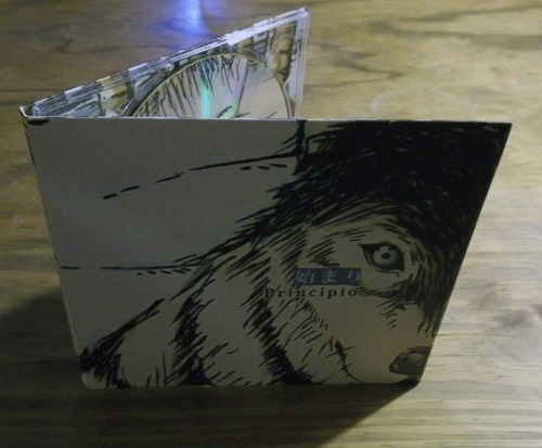 primer álbum  principio  de viento (cd de música)