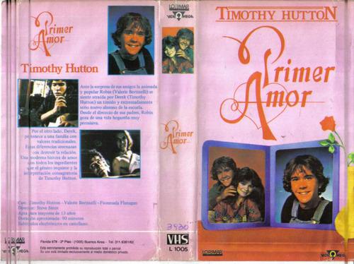primer amor timothy hutton valeria bertinelli vhs