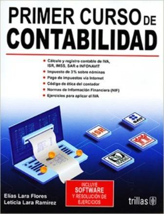 Primer Curso De Contabilidad Elias Lara Flores 4ta Ed