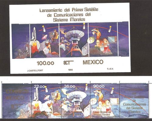 primer día lazamiento primer satelite morelos 1985