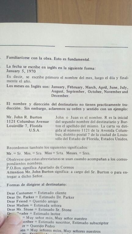 Primer Diccionario De Frases Comerciales Inglés Español