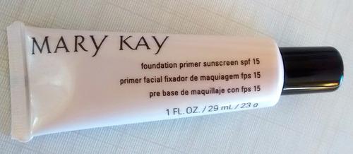 primer facial fixador de maquiagem fps 15 - mary kay