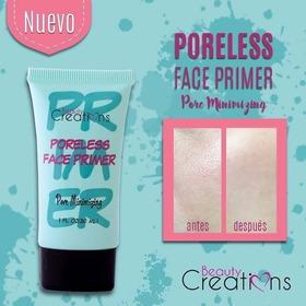 Primer Pre Base Poreless Face Beauty Creations Original