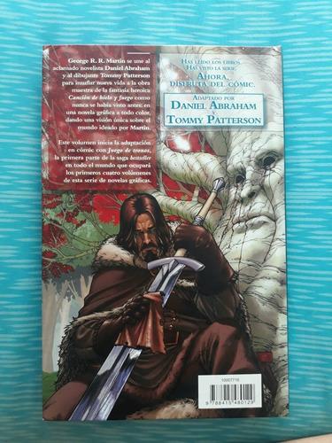 primer volúmen libro comic de juego de tronos en español