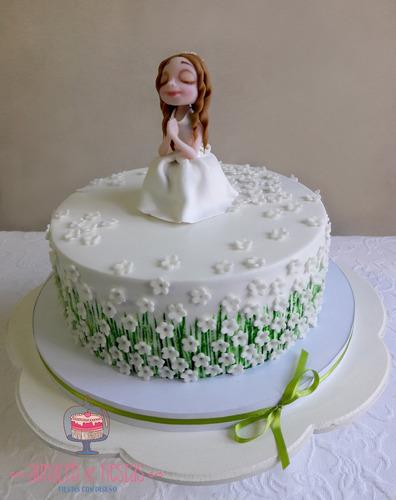 primera comunión-confirmación - torta decorada (por kilo)