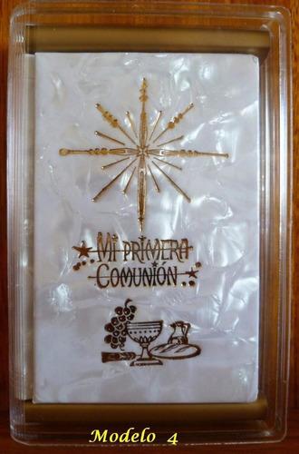 primera comunión libro misal nacar