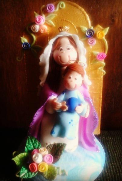 Primera Comunión Y Bautizo Vírgenes Bebés ángeles Bs 1200