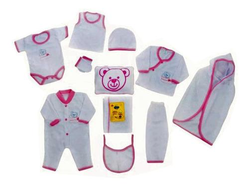 primera muda algodón bebé niño niña conjunto recien nacido
