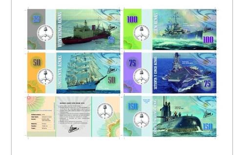 primera serie de bonos apna - navíos emblemáticos