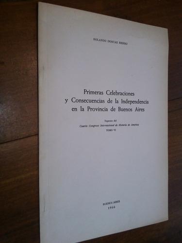 primeras celebraciones de lndependencia  - dorcas berro