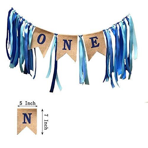 primeras decoraciones de cumpleaños, primer banner de cump