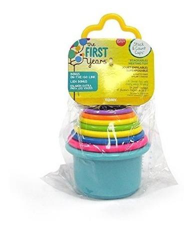 primeros años vasos para apilar, multicolor niños bebés