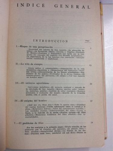 primeros escritos - san agustin -editorial católica. 1 tomo.
