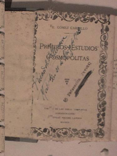primeros estudios cosmopolitas