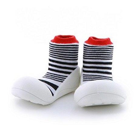 Zapatos Para Ninos Bebe Caminar Con Calcetines Primeros xWQoeCdBr