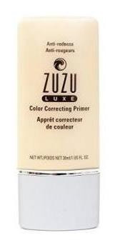 primers correctores de zuzu luxe color anti  enrojecimiento