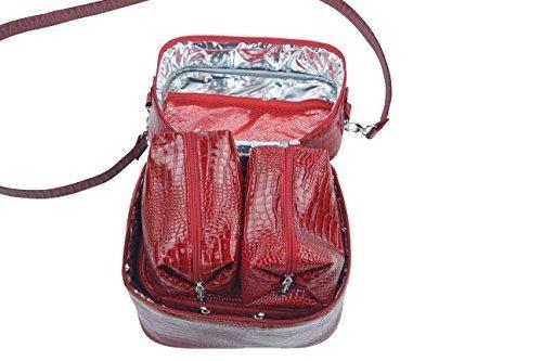 primeware mojito cuatro en una bolsa de cosméticos aislados,