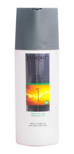 primont anti dandruf shampoo pelo con caspa x 410ml