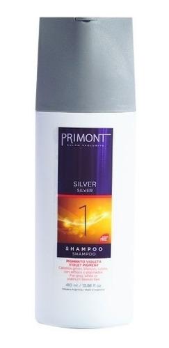 primont shampoo silver matizador pelo rubio gris blanco x410