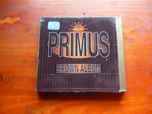primus bronw albun u.s.a 1997.(original impecable)