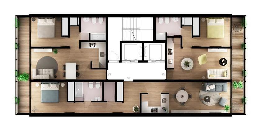 primus: unidades 1, 2 y 3 dormitorios a metros del río
