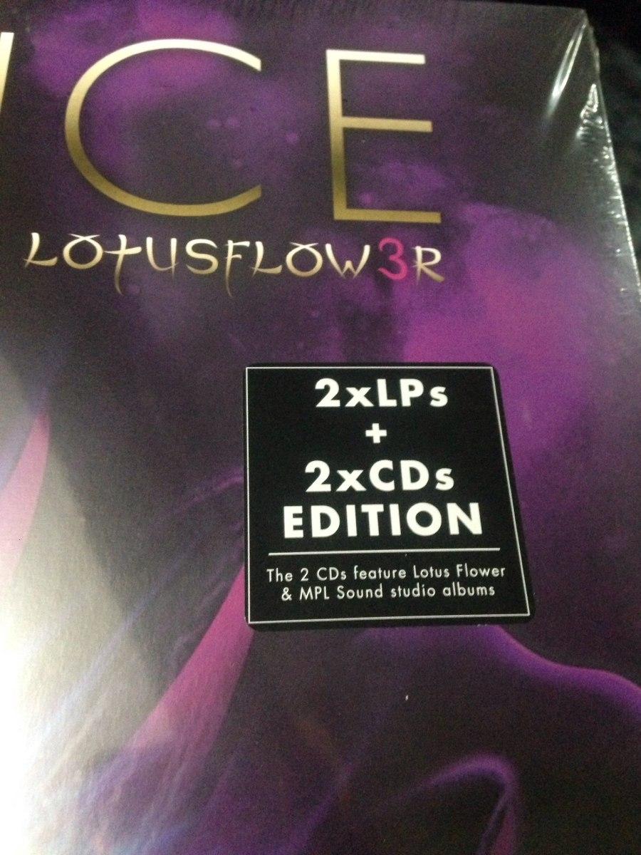 Prince Lotusflow3r Edición Deluxe 2lp 2cd Sellado Nuevo 899