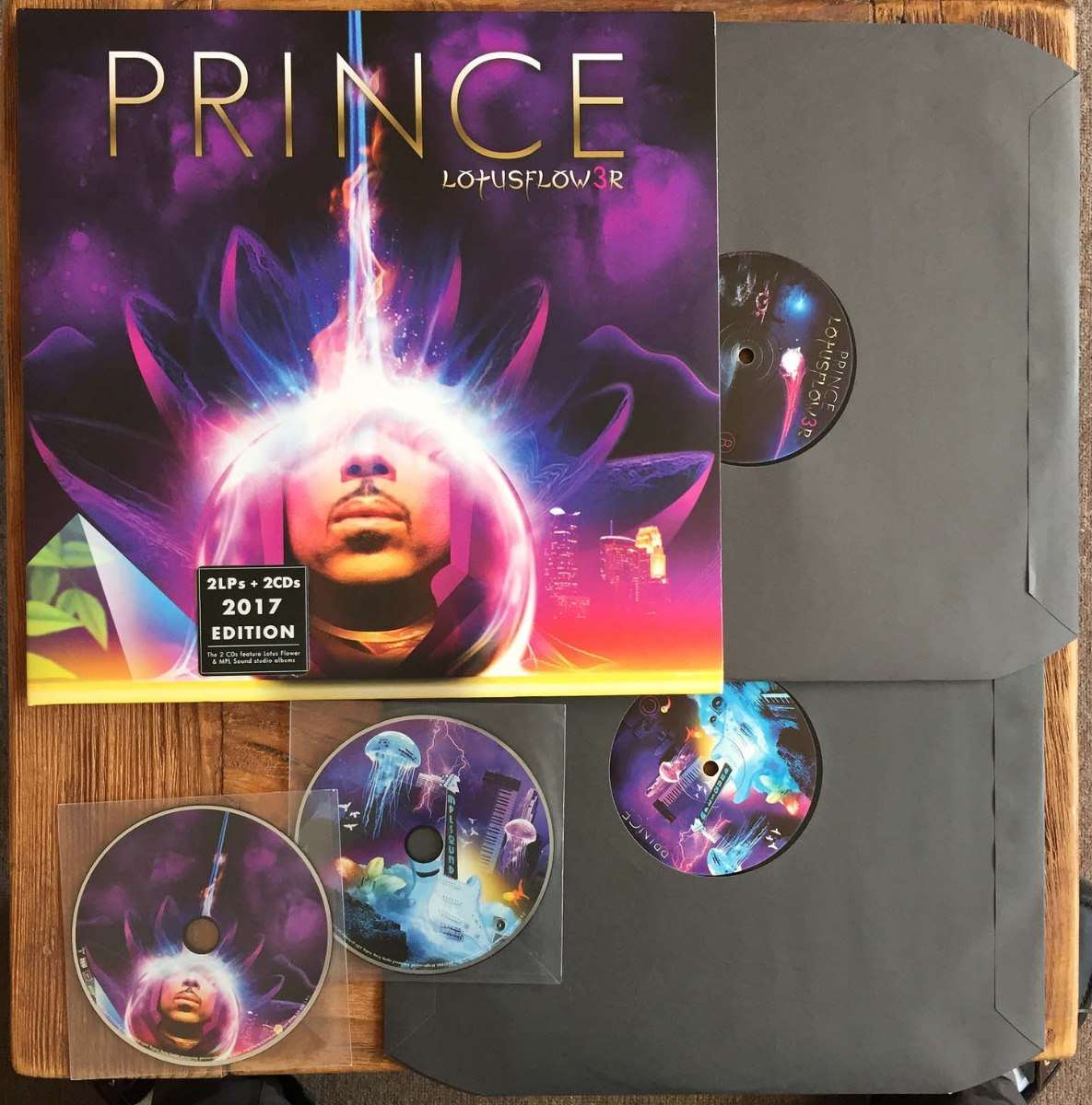 Prince Lotusflower Mplsound 2 Lps Y 2 Cds 2017 Europa 82400