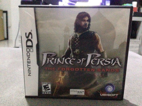 prince of persia forgotten sands nintendo ds 3ds completo