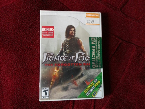 prince of persia para wii