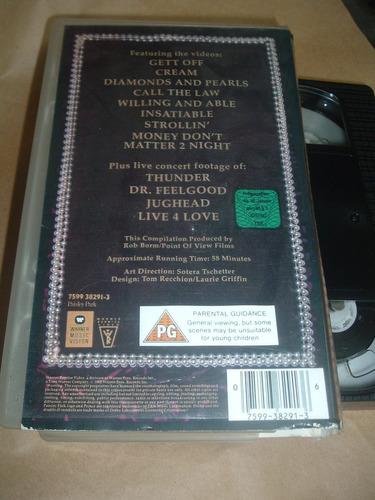 prince video collection vhs en la plata fraganplat tolosa